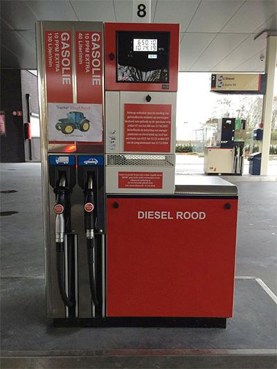 rode diesel